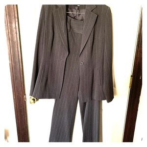 Women's H&M Pinstripe Suit
